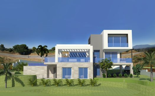 ARFV1855 - 10 new build modern villas at La Cala Golf for sale