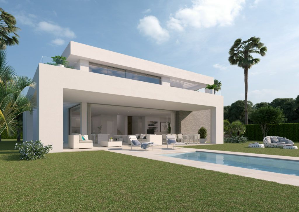 ARFV1862 - Project for 33 modern villa in the La Cala Golf Resort in La Cala