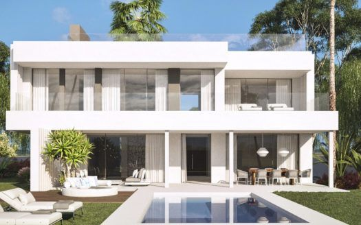 ARFV1932 - Project for modern villas with sea views for sale in Cancelada in Estepona