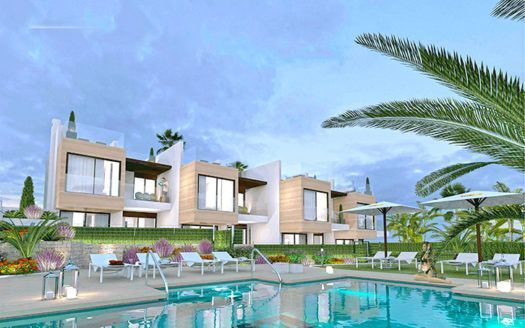 ARFTH154 - 8 brand new townhouses for sale in Nueva Andalucia