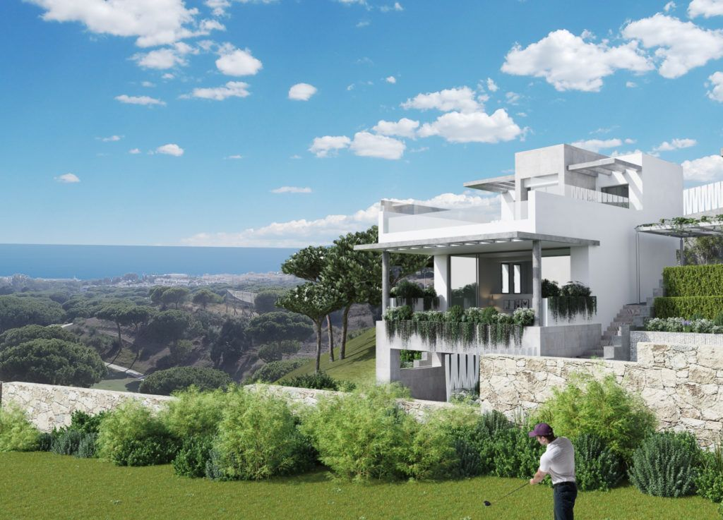 ARFTH127 - Project for 23 townhouses and 2 villas for sale in Cabopino in Marbella