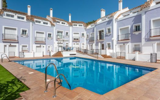 ARFTH157 - Complex of only 10 townhouses for sale in the centre of Benahavís village
