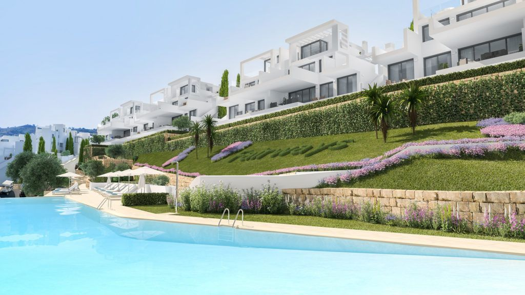 ARFA1243 - Project for new apartments and penthouses for sale in la Cala Golf in Mijas