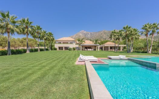 ARFV1971 - Magnificent villa for sale in Quinta de Sierra Blanca in Marbella on the Golden Mile
