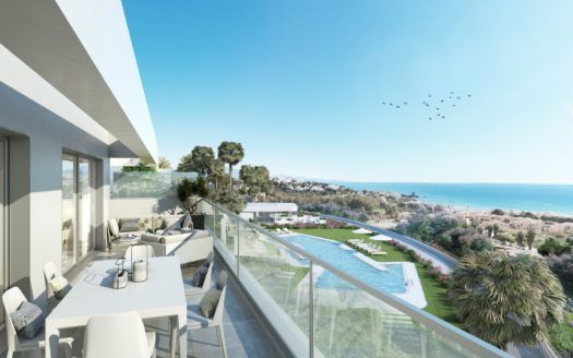 ARFA1316 - Modern apartments close to the beach for sale in Sabinillas