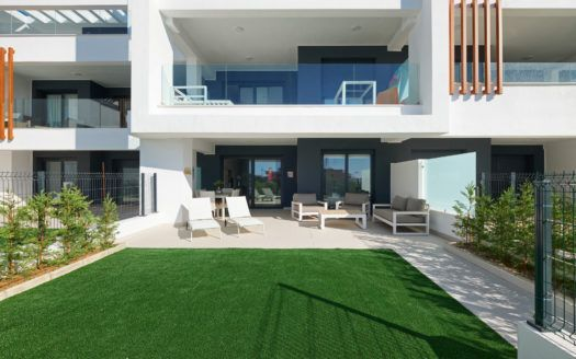 ARFA1378-316 - Brand new and furnished ground floor apartment for sale in Cancelada near Estepona