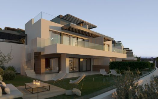 ARFV2121 - 50 semi detached villas are being built near the beach and several golf courses at Benahavis
