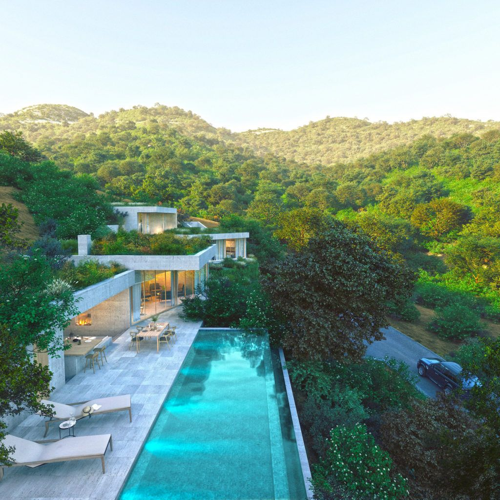 ARFV2130-308 - Modern villa project with panoramic views in Monte Mayor by Benahavis for sale