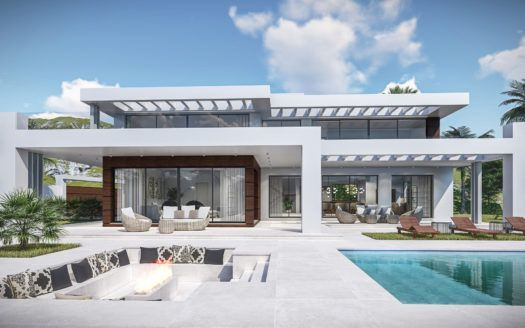 ARFV2138 - Luxury fully refurbished villa project for sale in Hacienda Las Chapas in Marbella