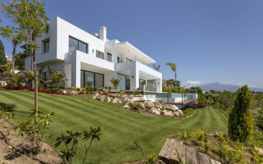 ARFV2149 - Spectacular newly built villa with panoramic views and fully furnished on the New Golden Mile