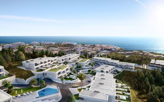 ARFTH167 - Exclusive terraced houses with stunning sea views for sale in Mijas Costa