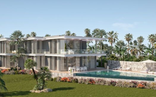 ARFV2150 - Project for new modern villas in top location with panoramic views in Cabopino in Marbella